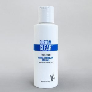 Custom Clear - Acne and Anti-Aging Skin Care - Acne Products - Extra Strength BPO Gel - Image 001